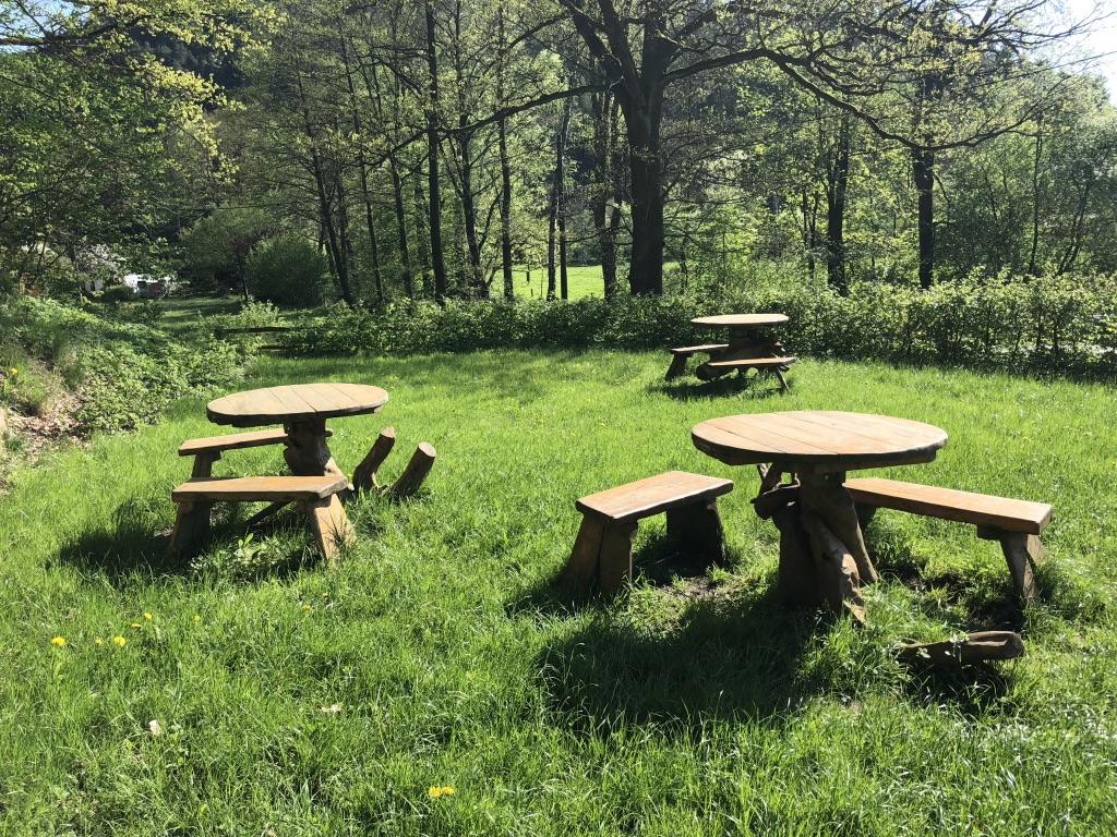 Kavárnička v přírodě