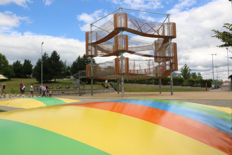 Aktivity park v aquaparku Olomouc