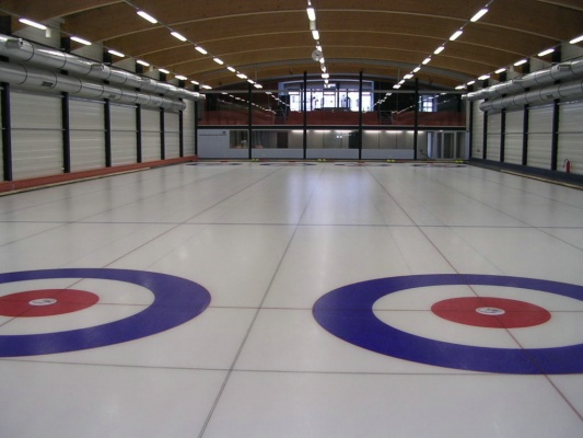 Curling arena Praha - Roztyly