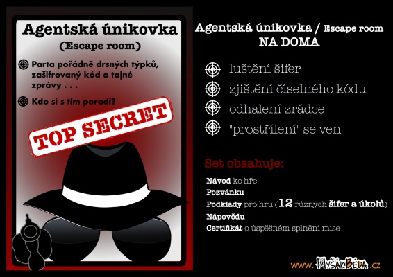 Únikovka na doma (Escape room)