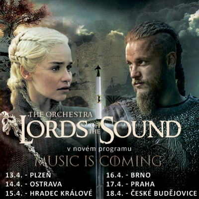 "Orchestr LORDS OF THE SOUND v novém programu ""Music is coming"""